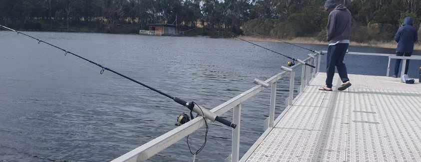 Fishermans landing jetty land based fishing