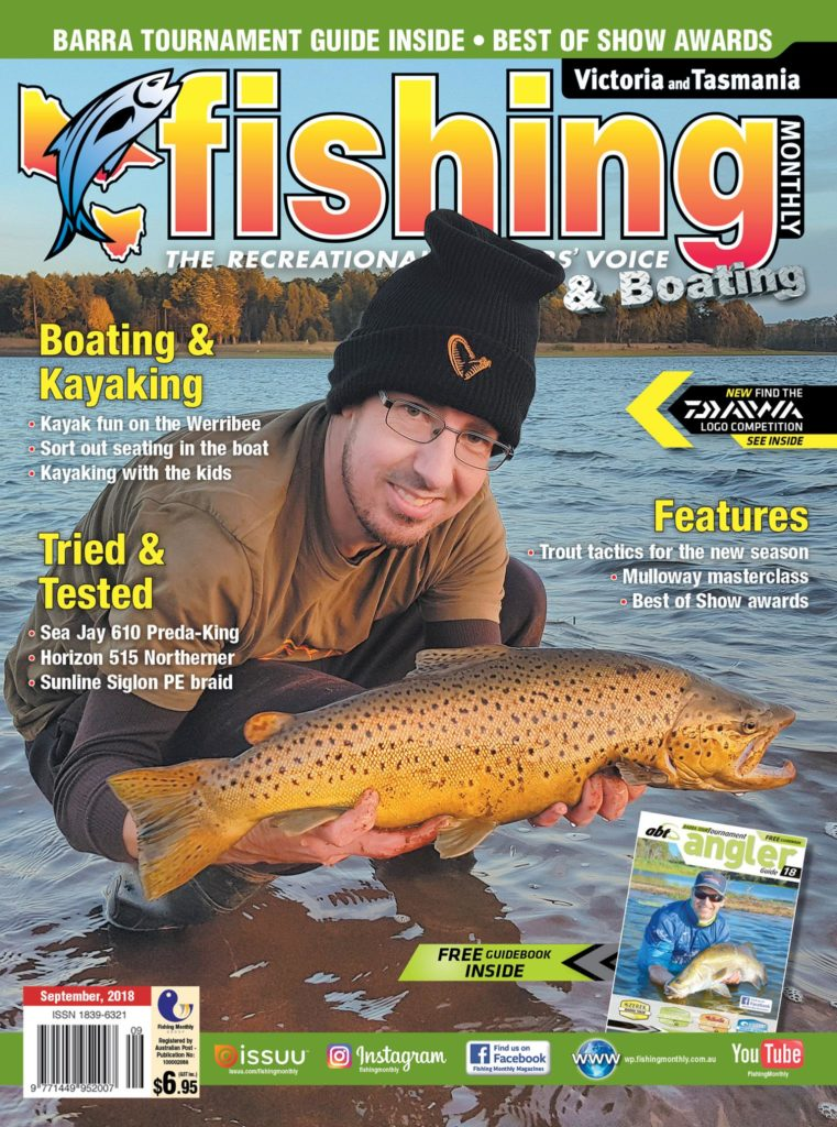 Fishing Monthly Cover