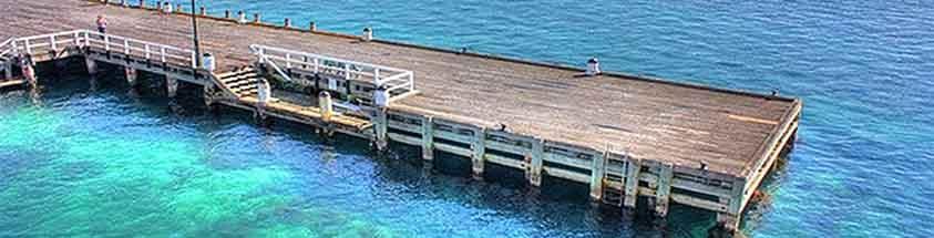 Sorrento pier fishing