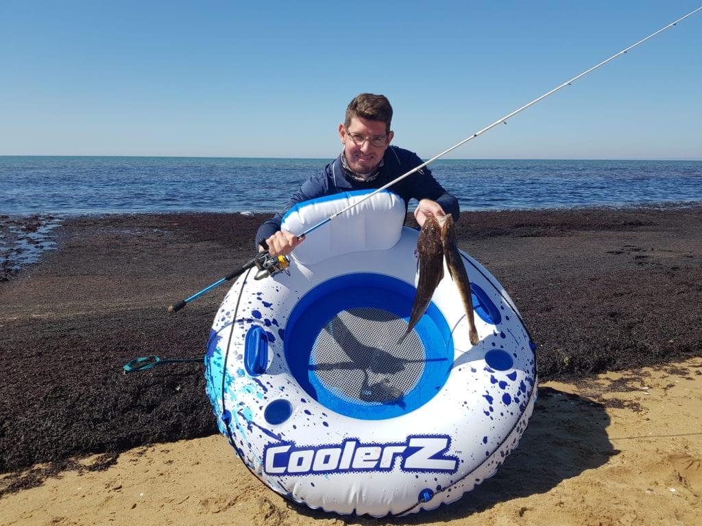Pool Tube Fishing Challenge