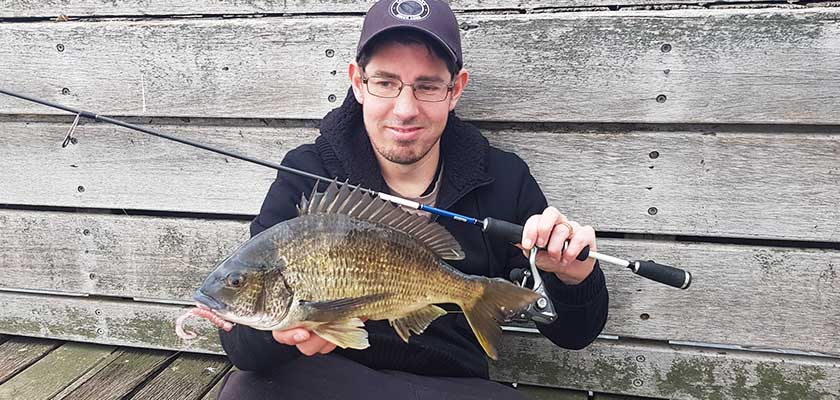 Best lures for catching bream