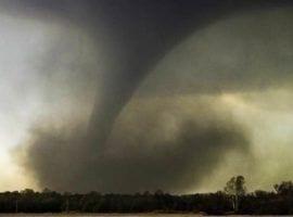 Lake Purrumbette hit by Tornado