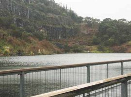 Ferntree Gully Quarry Reserve fishing