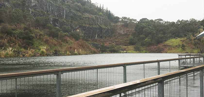 Ferntree Gully Quarry Reserve fish stocking | Melbourne