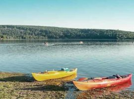 Lakes open to Kayak Fishing