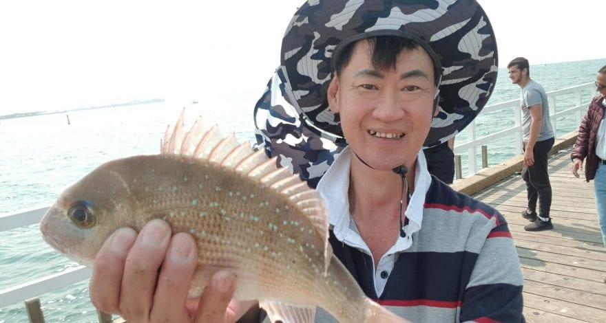 Kerferd road pier fishing