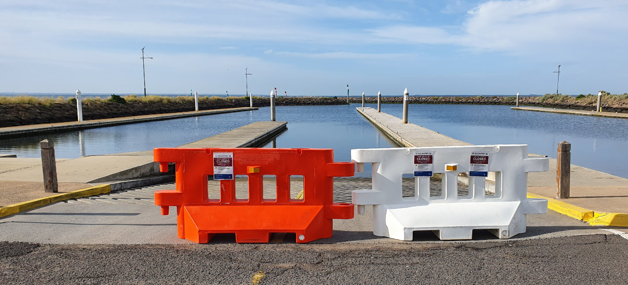 Altona Boat Ramp closed