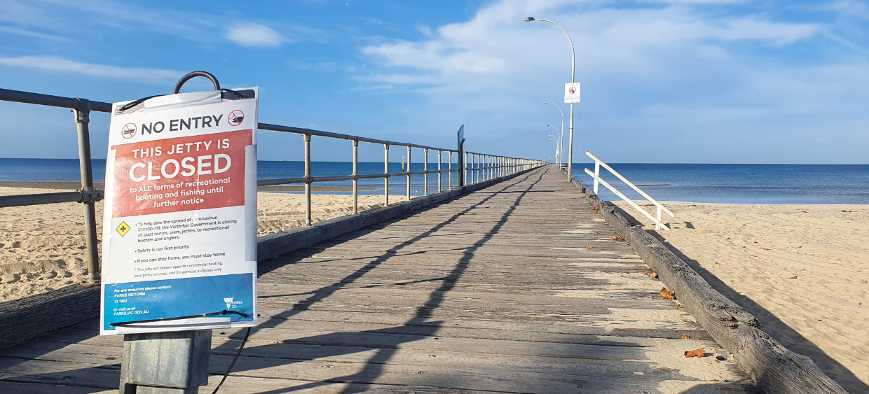 Altona Pier Closed