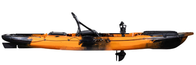 Revolve 13 pedal fishing kayak