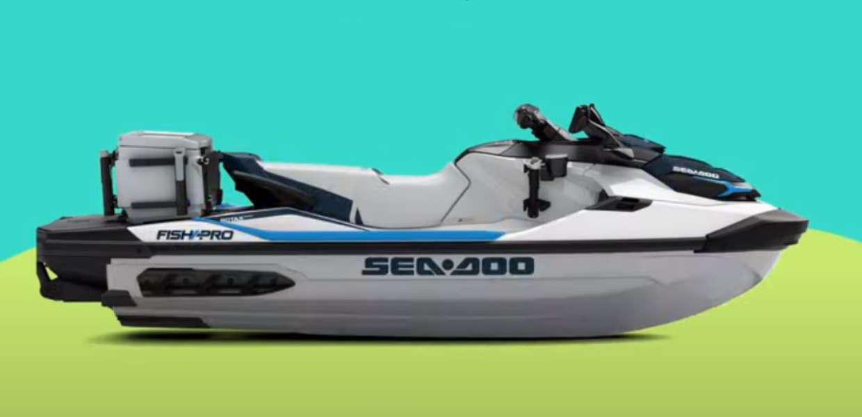 Sea-Doo Fish Pro 2020 new colours