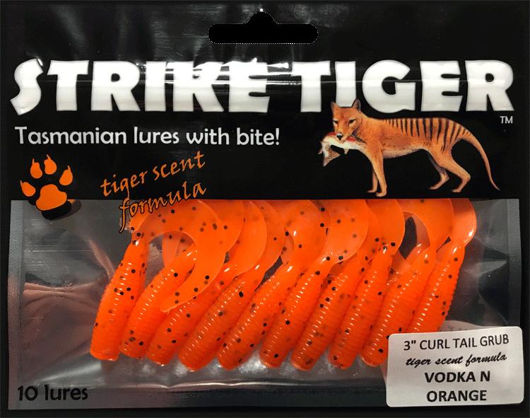 Strike-Tiger-3-inch-curl-tail-grub-VODKA-N-ORANGE