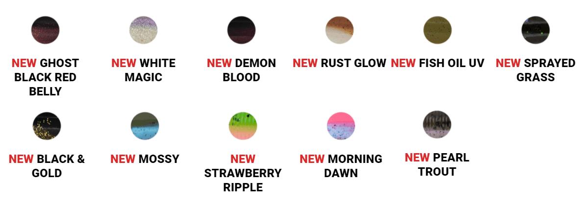 New Bait Junkie colours