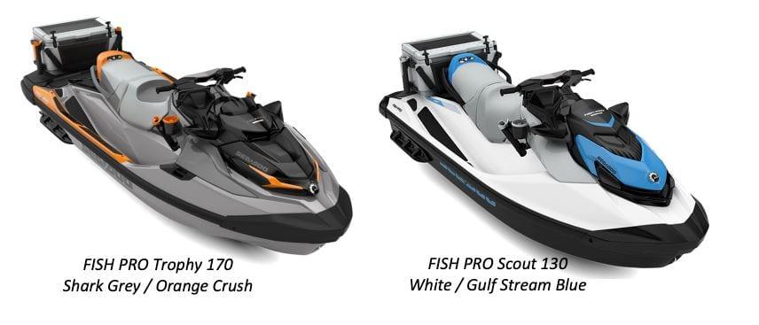 Fish Pro 2022 Colours